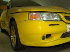 «Желтая акула»: в гараже нашли «заряженный» ВАЗ-21106