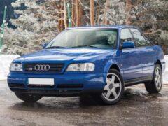 Редчайший седан Audi S6 Plus 1996 года продадут на аукционе