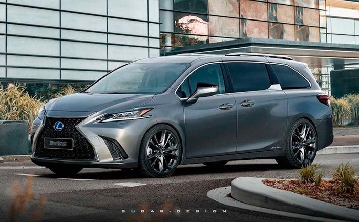 Lexus, новый, минивэн