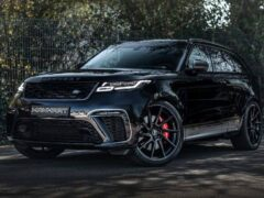 Тюнинг-ателье Manhart доработало Range Rover Velar