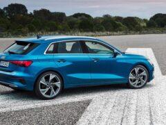Audi готовит новый A3 к выходу на рынок в цифровом формате