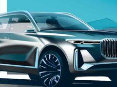 Новый BMW X8: дизайнерское видение