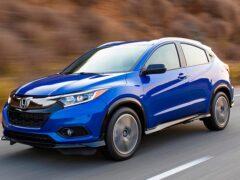 Honda готовит новый субкомпактный кроссовер ZR-V