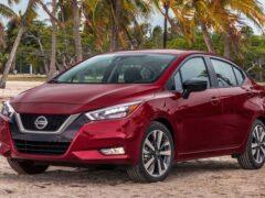 Компания Nissan запустила в продажу четырехдверный седан Sunny