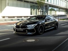 BMW M8 от Manhart ускоряется до «сотни» за 2,6 секунды