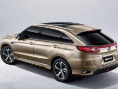 Обновленный кроссовер Honda UR-V появится в продаже в июне