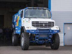 КамАЗ создает для «Дакара» новый грузовик с кабиной от Mercedes-Benz