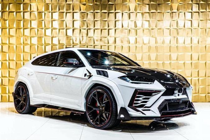 Lamborghini Urus, эпатажный обвес