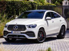 В России начались продажи нового Mercedes-AMG GLE 53 Coupe