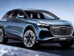 Новый Audi Q4 e-tron станет самым дешевым электрокаром Audi