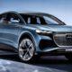 Audi Q4 E-Tron вывели на тестовые испытания