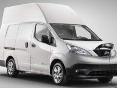 Nissan представил электрический фургон e-NV200 XL Voltia