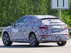Обновленный Audi SQ5 рассекретили, не дожидаясь дебюта