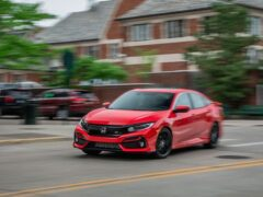 Honda Civic Si сохранит механическую коробку передач