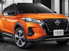 Объявлена дата продаж обновленного кроссовера Nissan Kicks