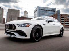 Mercedes запускает на рынок США более доступную версию AMG GT