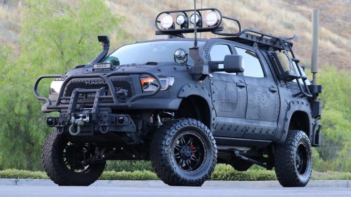 Toyota Tundra, зомби-апокалипсис