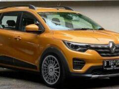 Опубликованы снимки бюджетной модели Renault Kiger