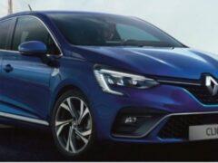 Renault Clio вновь стал самым популярным автомобилем в Европе