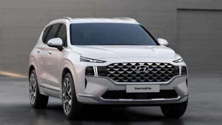 Hyundai Santa Fe, обновленный кроссовер