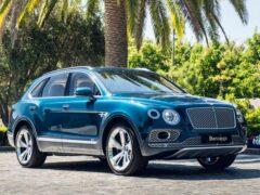 Bentley выпустил 20-тысячный кроссовер Bentayga