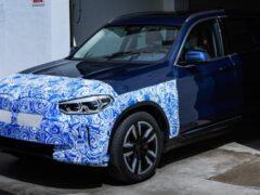BMW анонсировала старт производства нового BMW iX3 в Китае