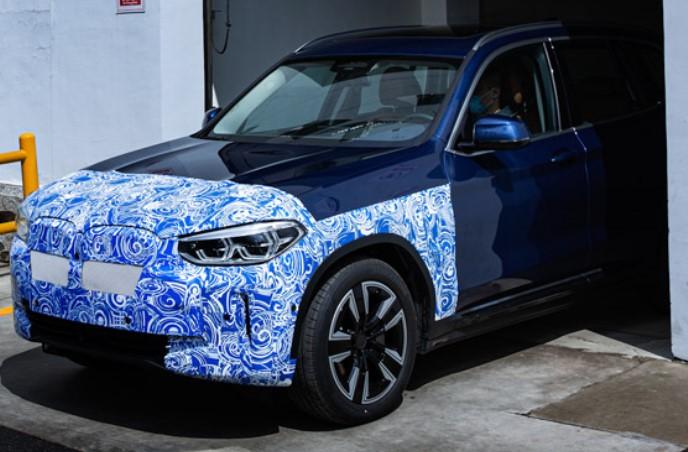 BMW iX3, сборка, Китай