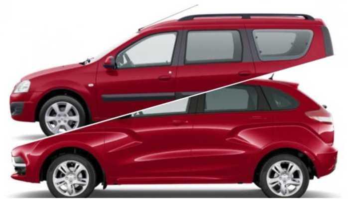 LADA XRAY и Largus, новый красный оттенок кузова