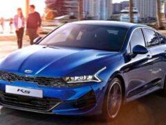 Появилась информация о новой версии Kia K5 для рынка России