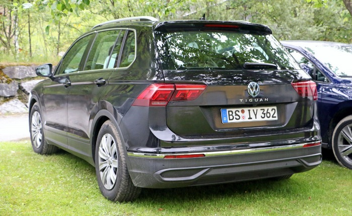 Volkswagen Tiguan, обновленный