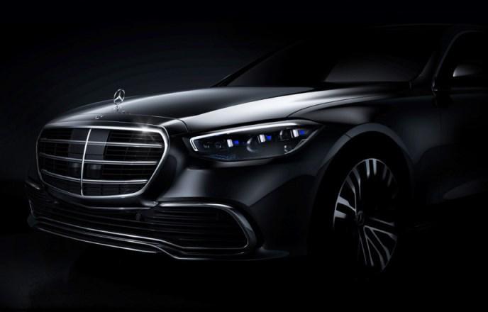 Mercedes-Benz S-Class W223 Teaser