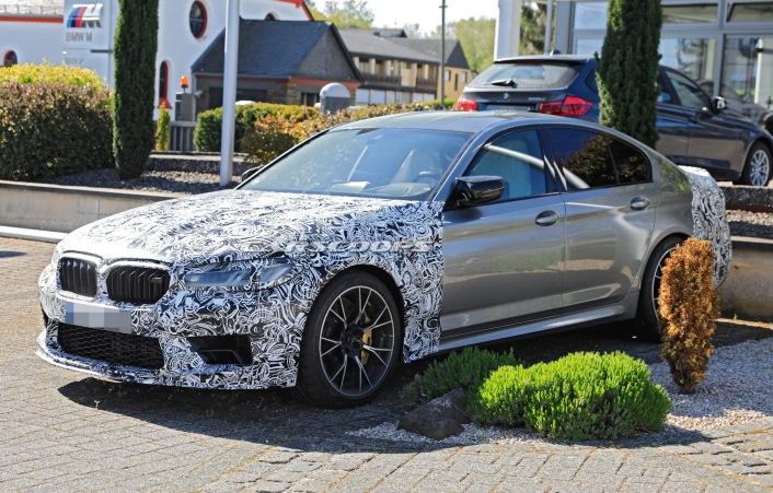 BMW M5 CS, обновленный