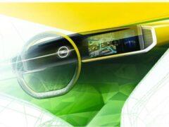 Opel показал интерьер нового Mokka