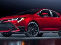 Toyota выпустила специальное издание хэтчбека Corolla