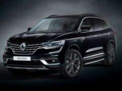 Renault Koleos Black Edition представлен в Австралии