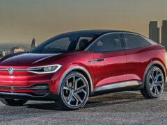В Сети появились фото электрического кроссовера Volkswagen ID.4X