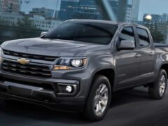 Показали обновленный Chevrolet Colorado