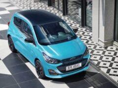 Компания Chevrolet обновила сити-кар Spark для Южной Кореи