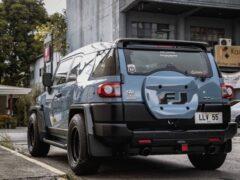 Филиппинские тюнеры представили заниженный Toyota FJ Cruiser