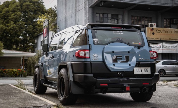 Toyota FJ Cruiser, заниженный, тюнинг