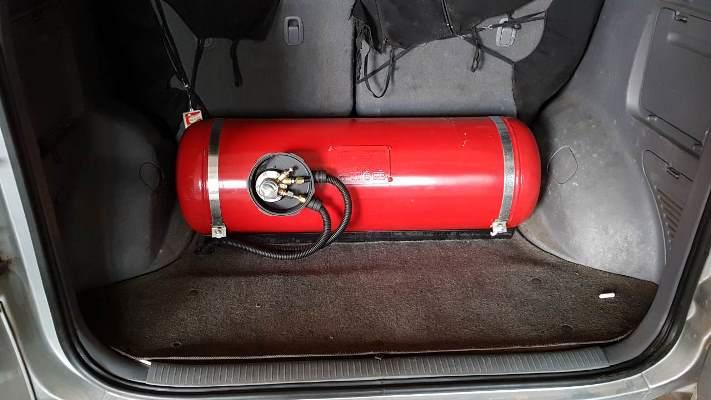 авто, газ установка