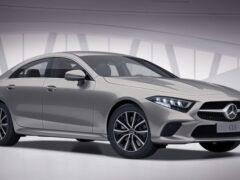 Mercedes CLS получил улучшенное оборудование