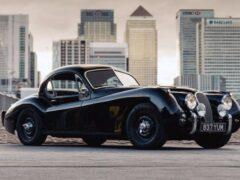 Классический Jaguar XK120 превращают в электрокар