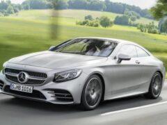 Mercedes-Benz поднял цены на купе и кабриолет S-Class