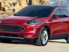 Появились данные о расходе топлива гибридного кроссовера Ford Escape