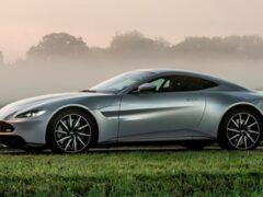 Внешность Aston Martin Vantage попытались улучшить новым бампером
