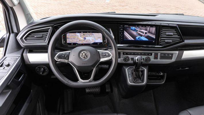 Volkswagen Multivan, салон