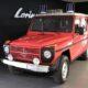 Пожарный «Гелендваген» 1983 года продают в Германии