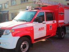 Представили спецверсию УАЗ «Профи» для противопожарной службы