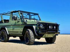 Компания Legacy Overland восстановила военный Mercedes G-Wagen